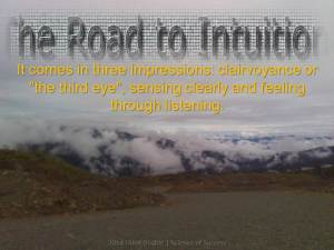 2014 Think Doable - Intuition